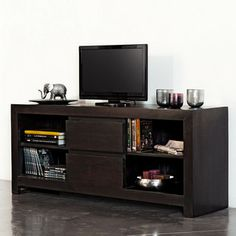 Meubles salon salle manger on pinterest 25 pins for Meuble tv wayne