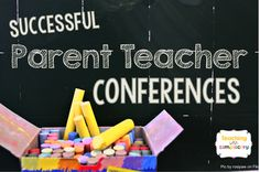 Tips for planning and holding successful parent teacher conferences.  Includes free printable forms too!