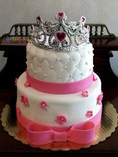 Princess' Birthday Cake....