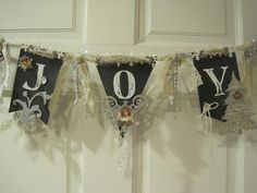 Sunday View: Chalkboard Style Christmas Banner
