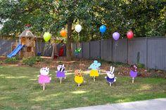 birthday parti, peppa pig birthday, peppa pig decorations, peppa pig characters, birthdays