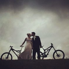 A Yeti Cycles wedding. Team rider Jared Graves is all grown up and married now!