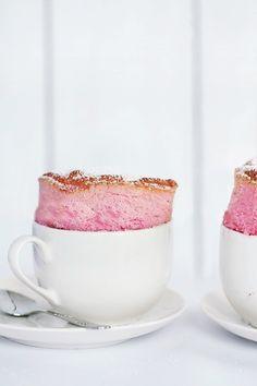 Gorgeous! raspberry souffle