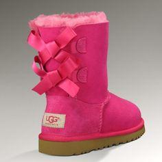 girls pink ugg boots
