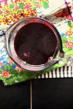 Maple Blueberry Syrup via joy the baker