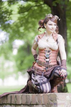 Steampunk - Intrigued by straychild77 on deviantART