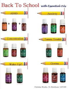 Young Living Essential Oils: School