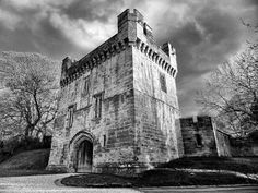 Morpeth Castle. Photo John Barnes. Margaret Tudor spent Christmas here in 1515, en route to London. Her hosts were Henry le Scrope, 7th Lord Scrope of Bolton (c1480 -  and his second wife, Mabel Dacre, daughter of Sir Thomas Dacre, 2nd Lord Dacre (of Gilsland) and Elizabeth Greystoke, Baroness Greystoke. He died circa December 1533.