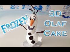 Frozen Cake Olaf HOW TO COOK THAT Ann Reardon Disney Frozen Cake - YouTube