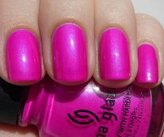 Love this color!! China Glaze Purple Panic