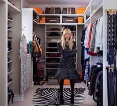 InStyle Magazine September 2013: Rachel Zoe's Closet