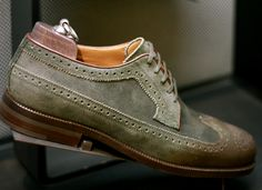 Jimmy Choo Longwing, Burnished-Toe Brogues !!!   #Mens #Fashion #Style  Men's Apparel