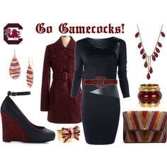 #USC #Gamecocks Gameday outfit