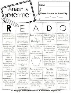 """Read-O made for the entire school year. It's scaffolded around the ELA Common Core. (great way to """"show"""" reading minutes)"""