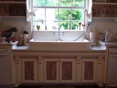 """Castle Petite"" 100 year old kitchen sink."
