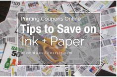 Printing Coupons Tip
