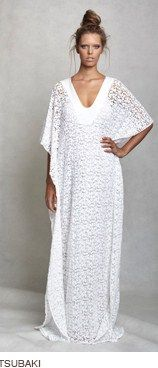 Lisa Brown: Tsubaki Lace Caftan, Abaya, bisht, kaftan, caftan, jalabiya, Muslim Dress, glamourous middle eastern attire