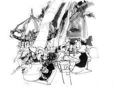 Greg Betza August 2010 Carousel bryant park, park artwork, 2010 carousel