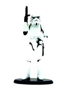 """Attakus Star Wars: Stormtrooper 1:10 Scale Resin Statue by Attakus. $76.95. Imported from France. This 1:10 scale statue stands 7.5"""" tall. High quality resin statue. Comes numbered with a Certificate of Authenticity. Limited to 2,500 pieces. From the Manufacturer                Imported from France. The stark white armor of the Imperial Stormtrooper is known — and feared — through the Galaxy, representing as it does a sign of Imperial might and strength. This foot..."""