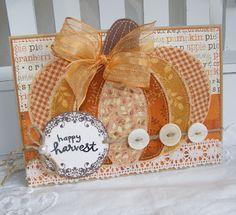 Happy Harvest - patchwork pumpkin