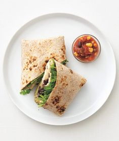 Chicken and Quinoa Burritos