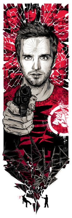 Jesse Pinkman. Awesome Breaking Bad Art Exhibition - My Modern Metropolis