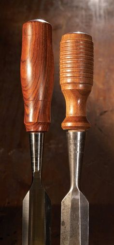 Turning Wood: Socket Chisel Handles - Woodworking Techniques - American Woodworker