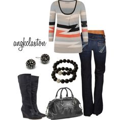 Seven Jeans for Winter - Polyvore