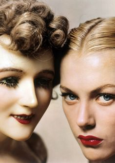 Model & Mannequin - US Vogue 1945