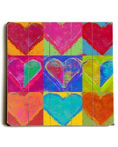 Lisa Weedn 'Block of Hearts'