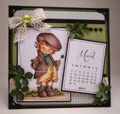 Paddy calendar page