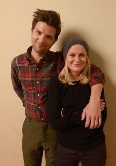 Amy Poehler & Adam Scott. Sundance.