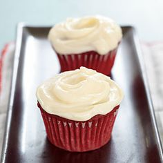 Red Velvet Cupcakes | CookingLight.com