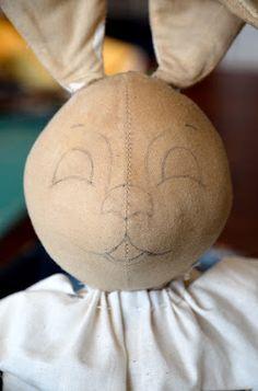 bunny face pait tutorial