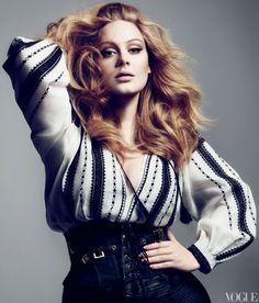 Adele; Vogue Magazine