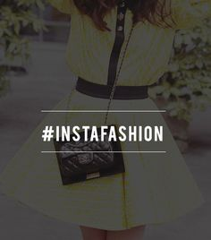 #InstaFashion - How to Better Take Instagram Fashion Photos. use a hashtag