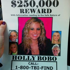 HOLLY BOBO MISSING 1 YEAR. PLEASE REPOST!
