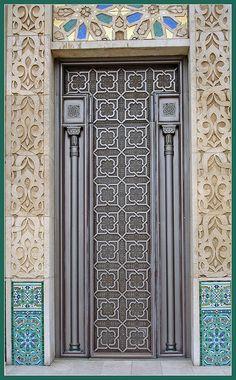 Door in Casablanca - Morocco