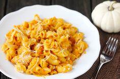 Yum! Pumpkin macaroni & cheese!