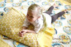 fabric giveaway, sew, compani, blake fabric, minut pillowcas, pillowcases, riley blake, simpl simon, pillowcas tutori