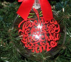 teacher gifts, gift ornament, person teacher, nifti gift, gift idea