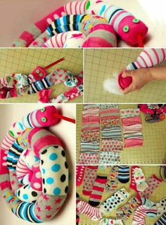 from odd socks to snake draft stoppers #DIY
