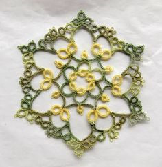simple but gorgeous #tatting #tatted #tat #lace