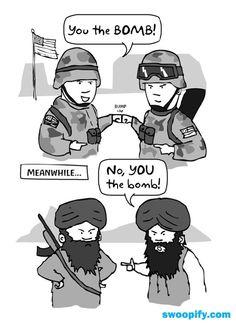 Soldiers VS Terrorists #humor #lol #funny