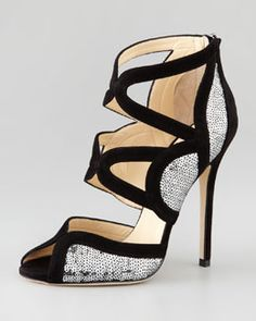 Jimmy Choo Tempest Sequin Pump