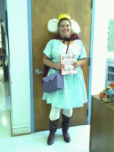 Lily's Purple Plastic Purse Book Character Dress Up Day Costume Halloween 2012