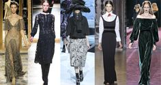 Edwardian influence on the runway