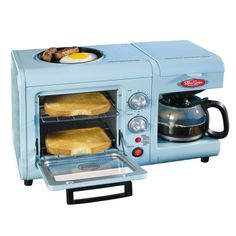 All-in-one Breakfast Machine. Who knew these things existed!