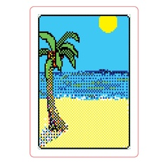 Evan Roth Solitaire Deck of Cards (Windows 3.1)