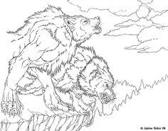 """""""The Hunt Begins"""" by Jaime Sidor http://emryswolf.deviantart.com"""